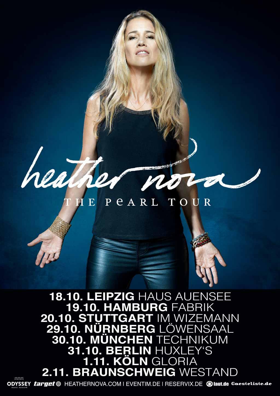 Heather Nova PEARL-Tour 2019